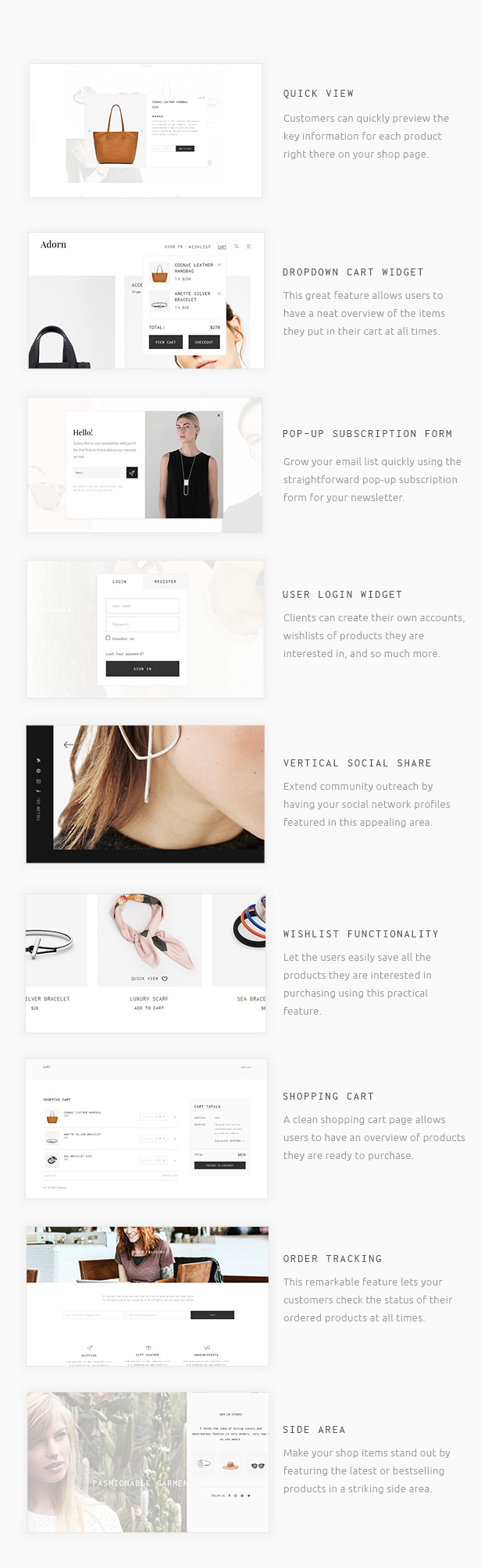 Adorn - A Minimal and Stylish WooCommerce Theme
